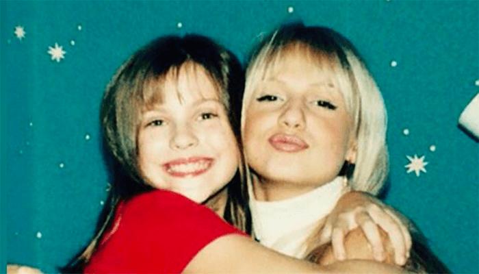 лопырева с сестрой