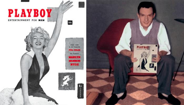 хефнер и первый номер журнала плейбой