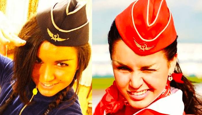 Юлия зиверт работала стюардессой